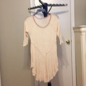 Free people tunic great w leggings or as a dress